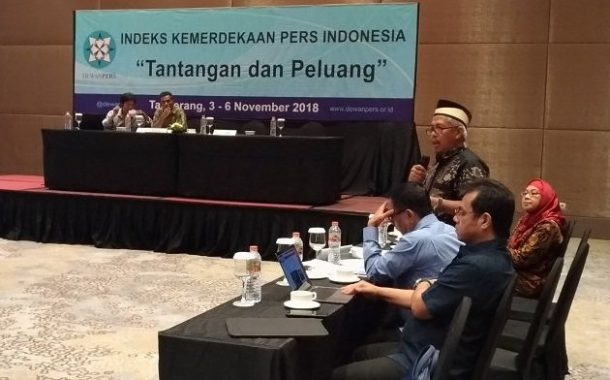 Rumuskan Indeks Kebebasan Pers 2018, DP Selenggarakan National Assesment Council